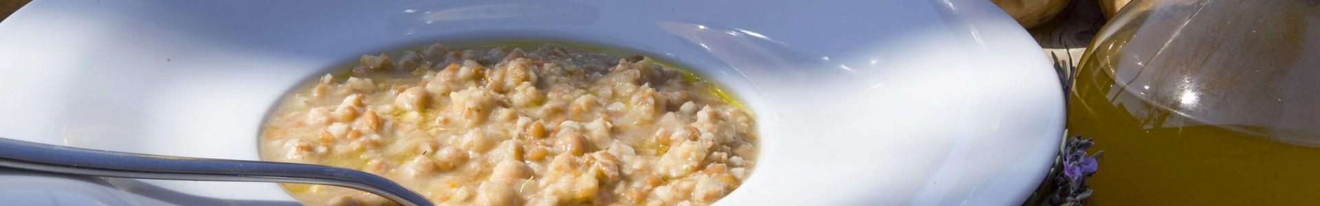 Zuppe biologiche pronte secche e lessate - Il Cerreto
