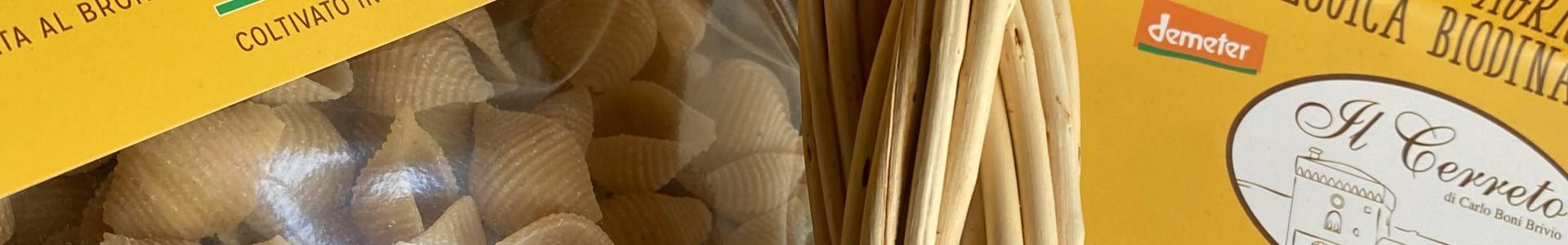 Pasta di grano duro biologica biodinamica - Il Cerreto